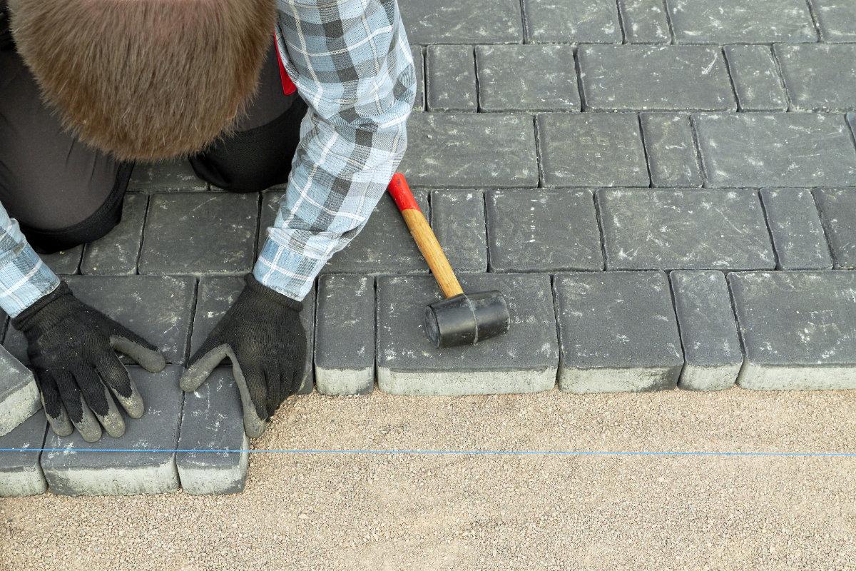 betonklinkers leggen