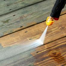 Terras reinigen prijs tips voor verschillende materialen - Bedek een houten terras ...