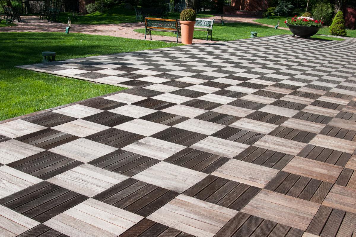 terras houten terrastegels